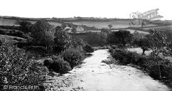 Tavistock, Harford Bridge On The Tavy c.1874