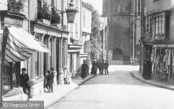 Tavistock, Market Street 1908