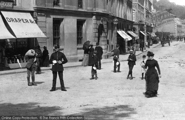 Photo of Tavistock, Policeman 1890