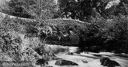 Tavistock, Sheepstor Bridge c.1874