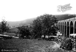 Tavistock, Shillamill Viaduct 1893
