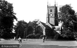Tavistock, St Eustachius Church 1934