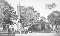 Tavistock, St Eustachius Church c.1875
