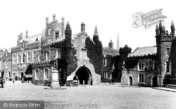 Tavistock, The Town Hall And The Guildhall 1893