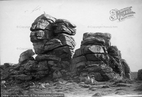 Photo of Tavistock, Vixen Tor From North 1890
