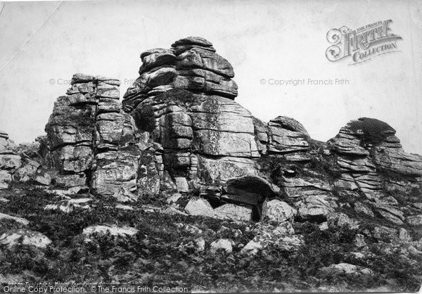 Photo of Tavistock, Vixen Tor From South 1890
