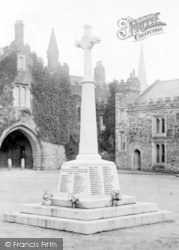 Tavistock, War Memorial 1922