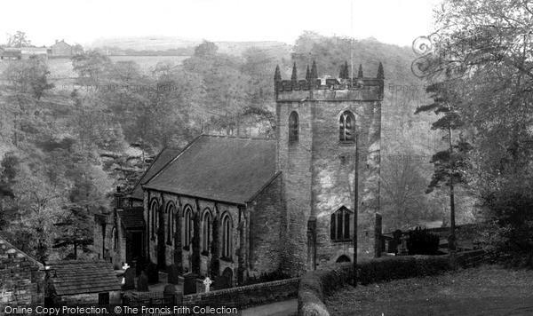Taxal, the Church c1955