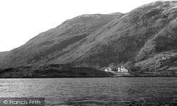 Taynuilt, Bonawe Ferry Crossing c.1955