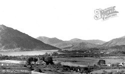 Taynuilt, Loch Etive And Mountains Of Glenetive c.1955