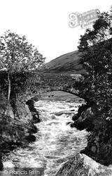 Tebay, Lune Bridge c.1955