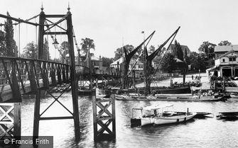 Teddington, Bridge 1899