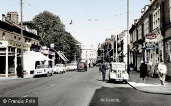 Teddington, Broad Street c1960