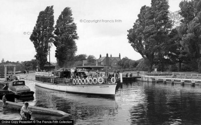 Photo of Teddington, Lock c.1960