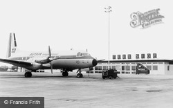 Teesside Airport, c.1965, Durham Tees Valley Airport