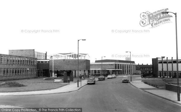 Photo of Teesville, Eston Town Hall And Municipal Hall c.1965