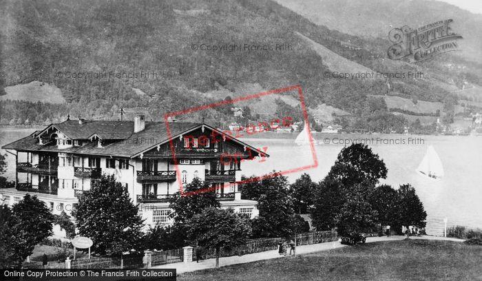 Photo of Tegernsee, Bad Wiessee, Kurheim Hanslbauer c.1935