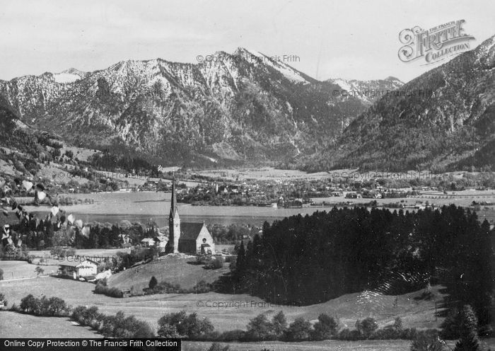 Photo of Tegernsee, Bad Wiessee With Bothenschneid c.1935