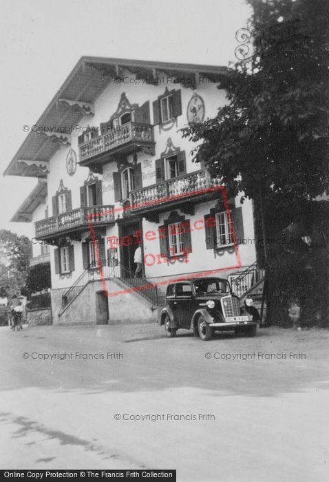 Photo of Tegernsee, Hotel c.1939