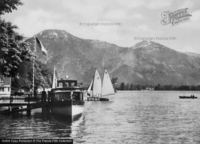 Photo of Tegernsee, Landing Place c.1935