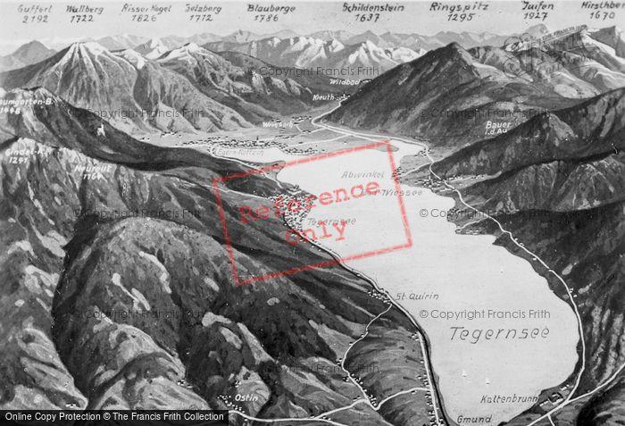 Photo of Tegernsee, Panorama c.1935