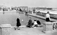 Teignmouth, Boating Pond c1960