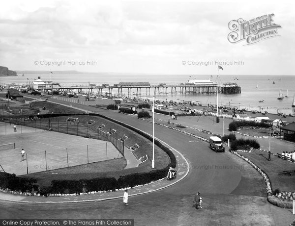 Photo of Teignmouth, Esplanade And Pier 1934