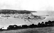 Teignmouth, from Torquay Road 1890