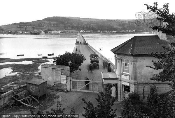 Teignmouth, Shaldon Bridge 1922