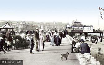 Teignmouth, the Parade 1903