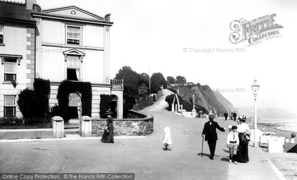 Teignmouth, the Terrace Walk 1911