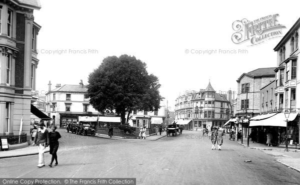 Teignmouth, the Triangle 1922