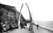 Teignmouth, Whale Bones 1922