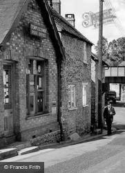 Post Office And Postman c.1955, Templecombe