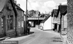 Templecombe, Post Office c.1955