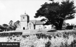 Templecombe, St Mary's Church c.1955