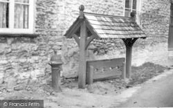 Templecombe, The Stocks c.1955
