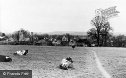 Templecombe, View From Recreation Ground c.1955