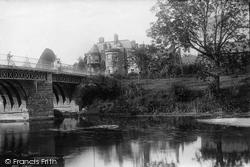 Tenbury Wells, Bridge And Swan Hotel 1892