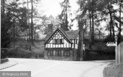 Tenbury Wells, Bromyard Road c.1950