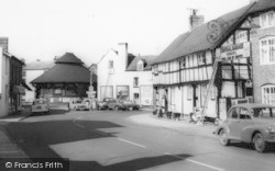 Tenbury Wells, Cross Street c.1965