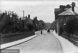 Tenbury Wells, From Bridge 1898