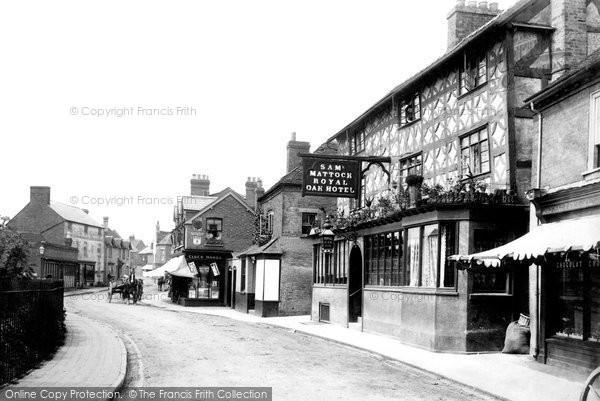 Photo of Tenbury Wells, Market Street 1898, ref. 41720