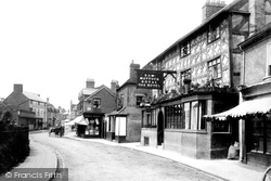 Tenbury Wells, Market Street 1898