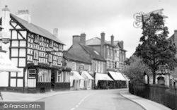 Tenbury Wells, Market Street c.1950