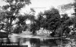 Tenbury Wells, On The River Teme 1898