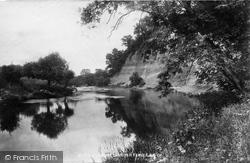Tenbury Wells, River Teme 1898