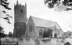 Tenbury Wells, St Mary's Church c.1950