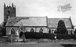 Tenbury Wells, St Mary's Church c.1955