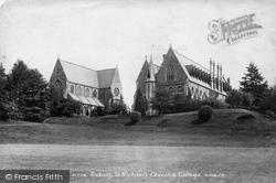 Tenbury Wells, St Michael's Church And College 1898